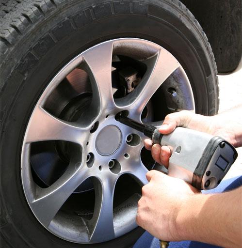 Changement de pneus Somain